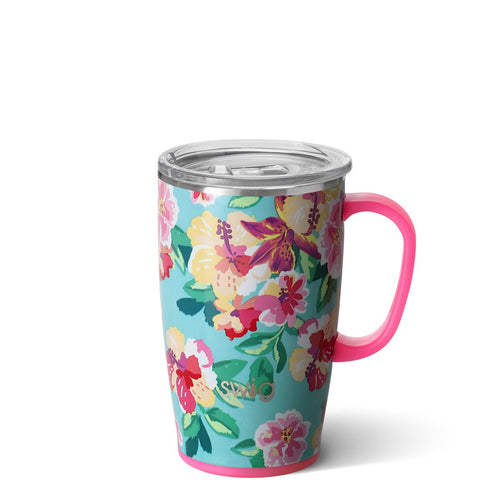 Island Bloom Travel Mug (18oz)