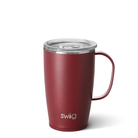 Matte Orange/Purple Travel Mug (18oz)