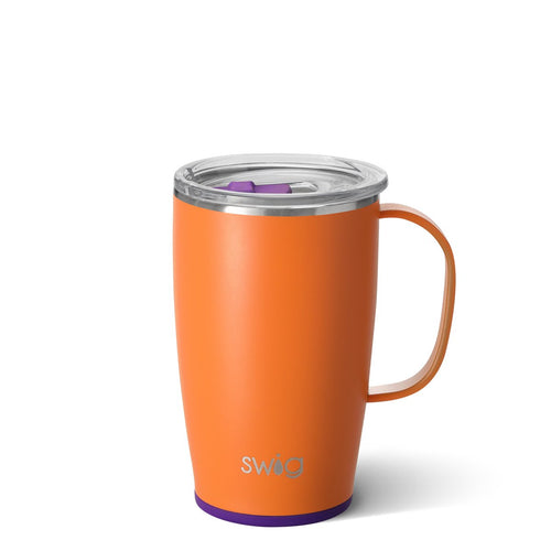 Matte Orange/Purple 18oz Mug
