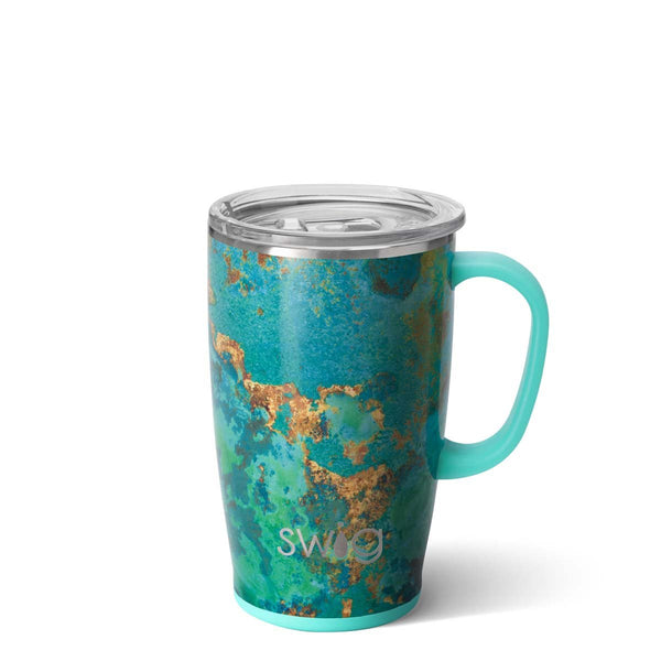 Copper Patina Travel Mug (18oz)