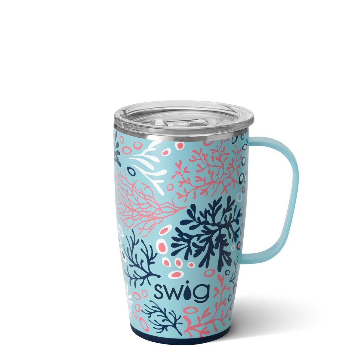 Coral Me Crazy Travel Mug (18oz)