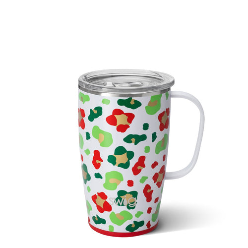 Jingle Jungle 18oz Travel Mug Main Image