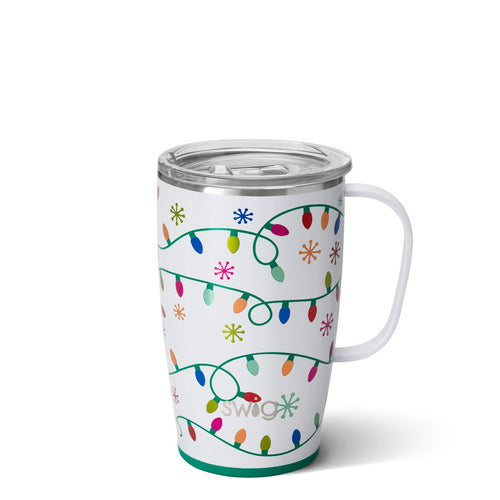 Let It Glow 18oz Travel Mug Main Image