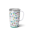 Let It Glow 18oz Travel Mug Main Image - Swig Life