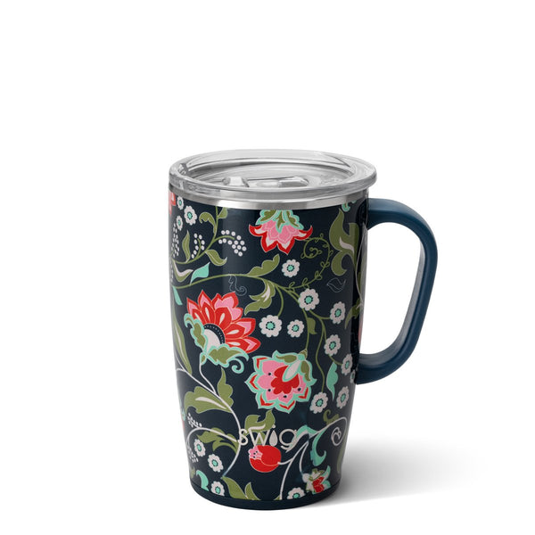 Lotus Blossom 18oz Travel Mug Main