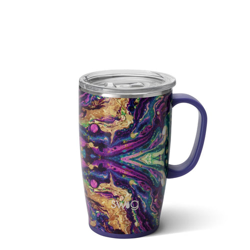 Purple Rain 18oz Travel Mug Main