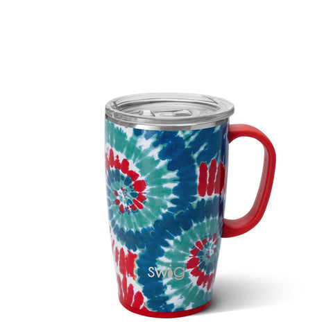 Matte Aqua Travel Mug (18oz)