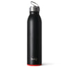 Matte Black/Red Bottle (20oz) - Swig Life
