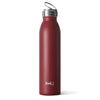 Matte Maroon 20oz Bottle - Swig Life