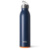 Matte Navy/Orange Bottle (20oz) - Swig Life
