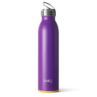 Matte Purple/Yellow Bottle (20oz)