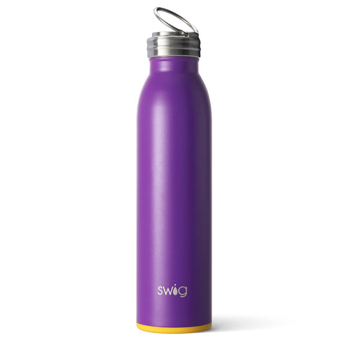 Matte Purple/Yellow 20oz Bottle