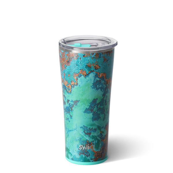 Copper Patina 22oz Tumbler