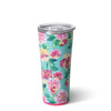 Island Bloom Tumbler (22oz) - Swig Life