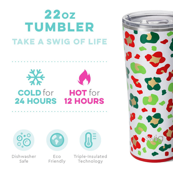 Jingle Jungle 22oz Tumbler Info Image