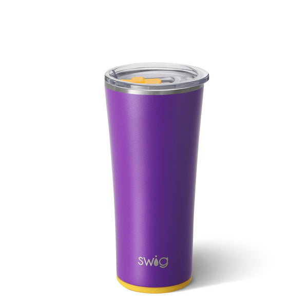 Matte Purple/Yellow Tumbler (22oz)
