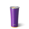 Matte Purple/Yellow Tumbler (22oz) - Swig Life