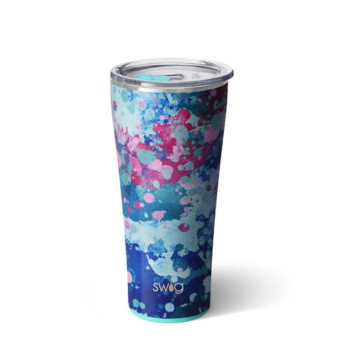 Shimmer Diamond White Tumbler (20oz)