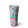 Island Bloom Tumbler (32oz) - Swig Life