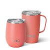 Matte Coral  AM+PM Set - Swig Life