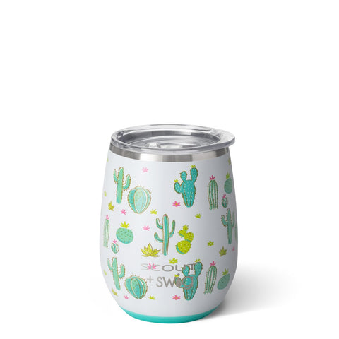 Frilly Lilly Stemless Wine Cup (14oz)