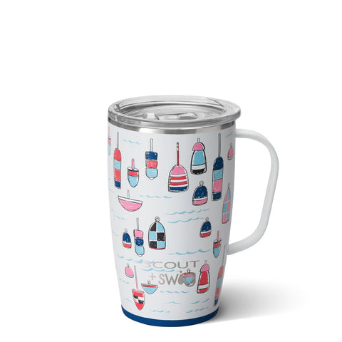 SCOUT+Swig Let's Shellabrate Travel Mug (18oz)