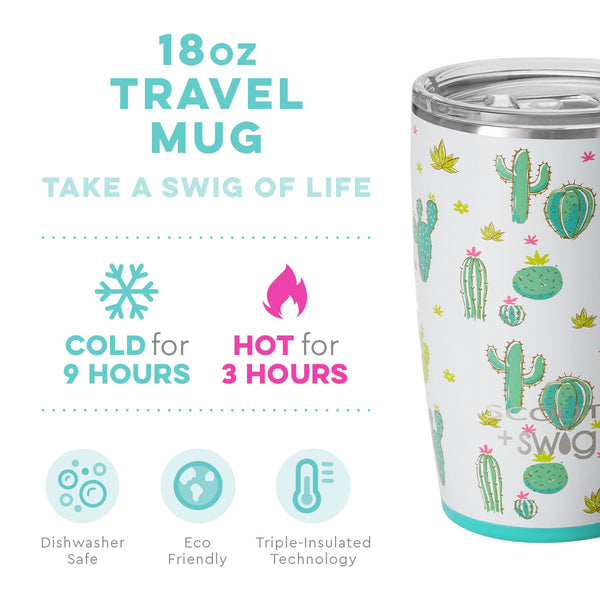 SCOUT + Swig Life Cactus Makes Perfect Mug (18oz) info