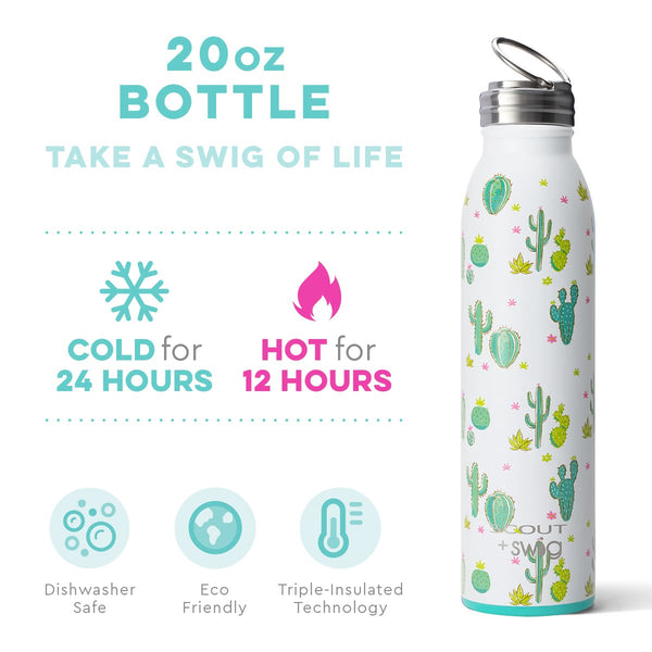 SCOUT+Swig Cactus Makes Perfect Bottle (20oz)