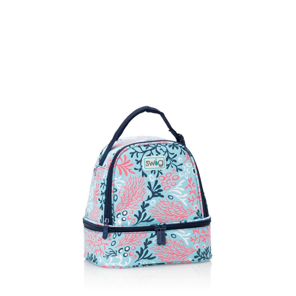 Coral Me Crazy Zippi Lunch Bag