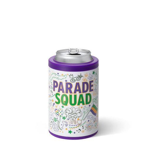 Mardi Gras Parade Squad Combo Cooler (12oz Cans & Bottles)