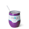 Purple 12oz Stemless Wine Cup - Swig Life