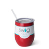 Red 12oz Stemless Wine Cup - Swig Life