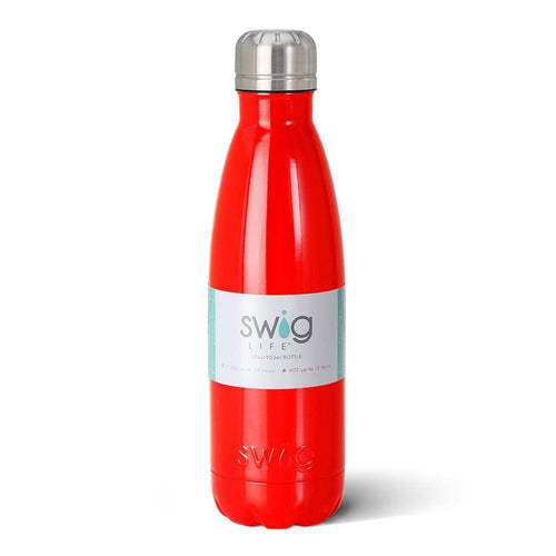 Red 17oz Bottle