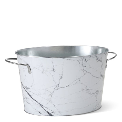 Swig Life Barware Marble 18-Quart Beverage Tub