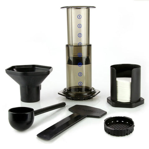 HOW TO BEW WITH AN AEROPRESS COFFEE MAKER