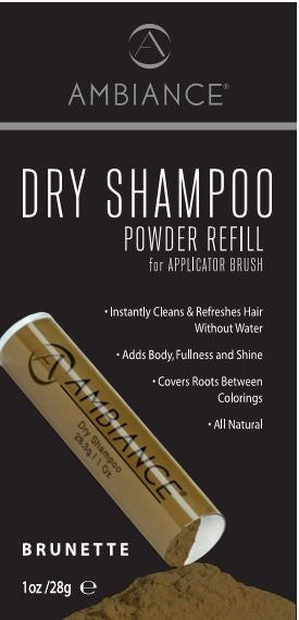 Ambiance Dry Shampoo- Brunette Refill
