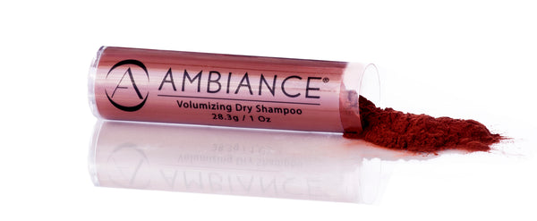 Ambiance Dry Shampoo- Red Brush & Refill Combo