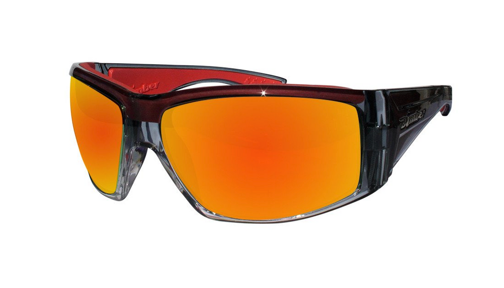 Bomber AHI Bombs (Blk-Red) Polarized
