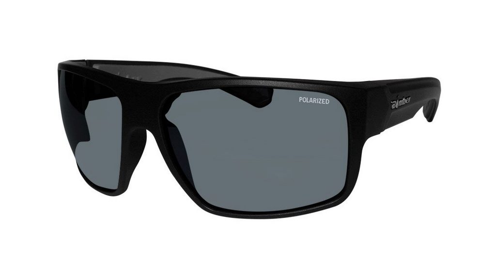 Bomber Mana Bombs (Blk-Grey) Polarized