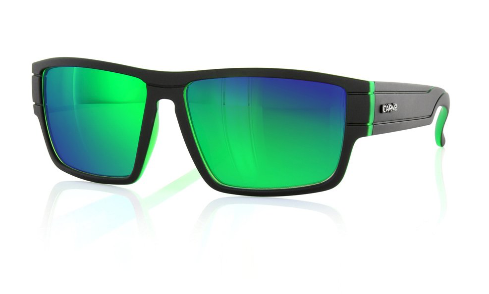 Carve Sublime Matt Blk/Green Revo