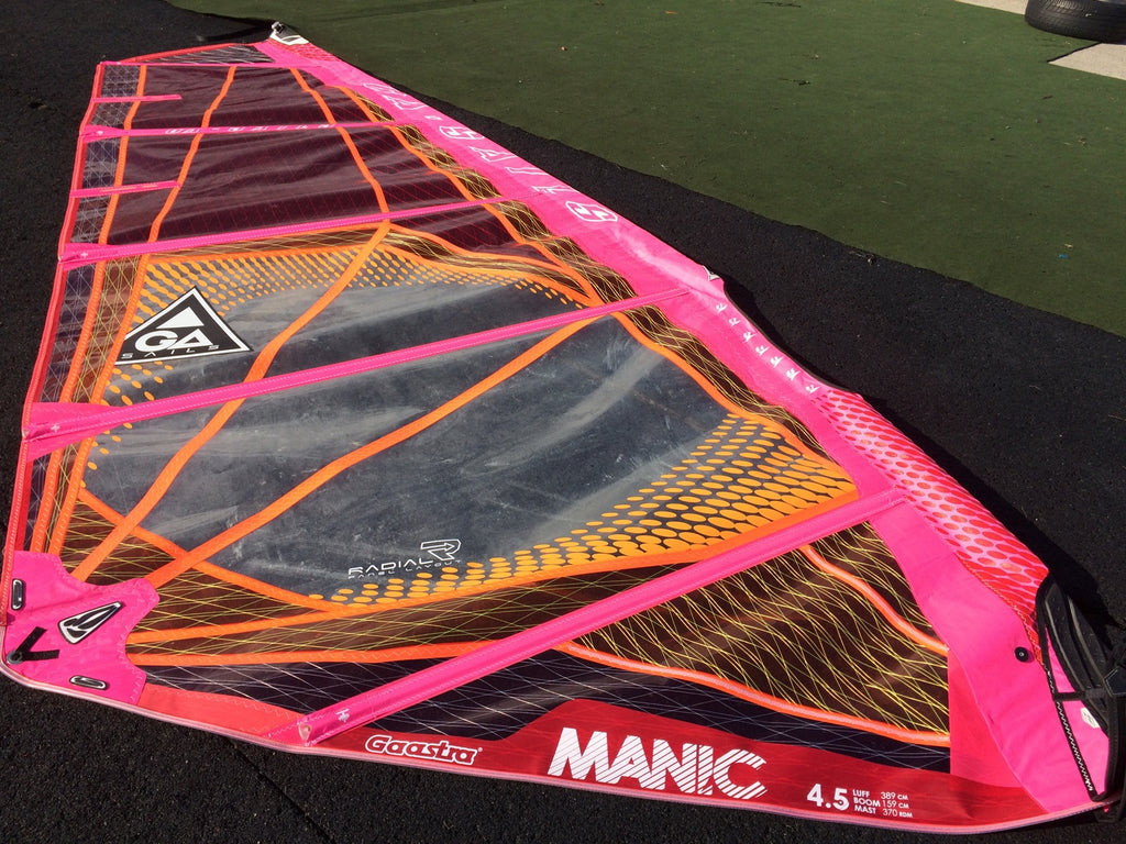 GA-Sails Manic 4.5m '15, Ex Demo
