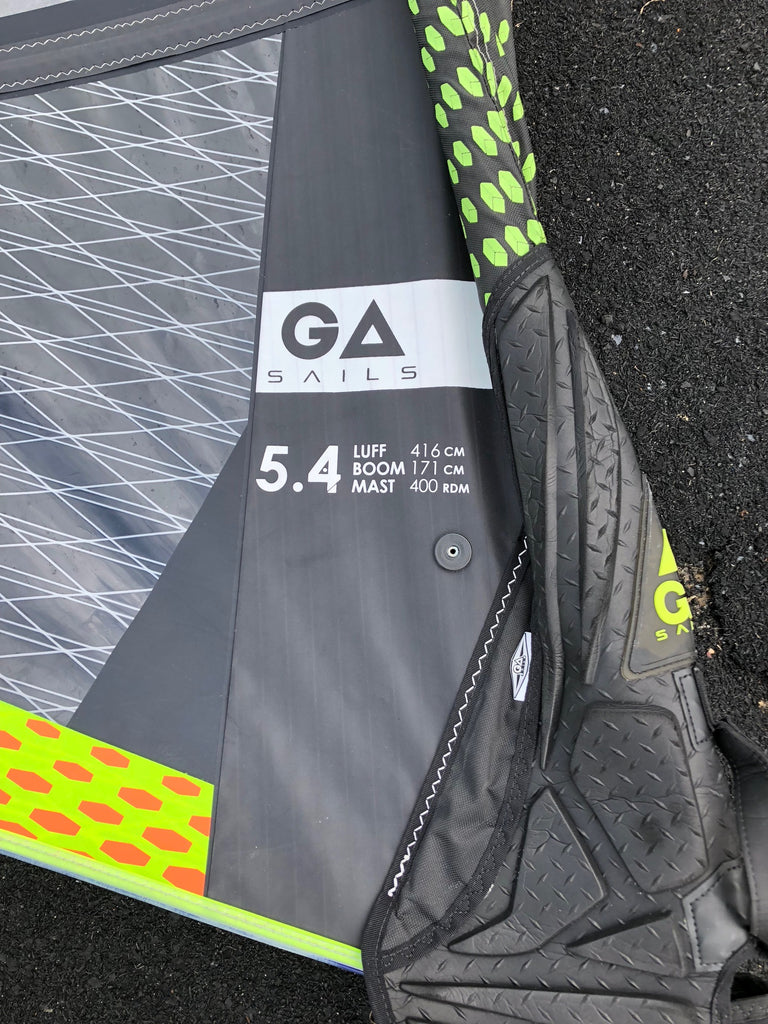 GA-Sails IQ 2018 Yellow/Blue