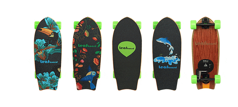 LeafBoard - Electric Skateboard