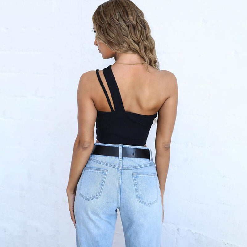 One Shoulder Camisole - AfterAmour