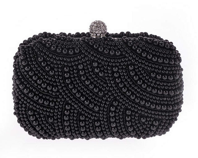Luxury Pearl Clutch - AfterAmour