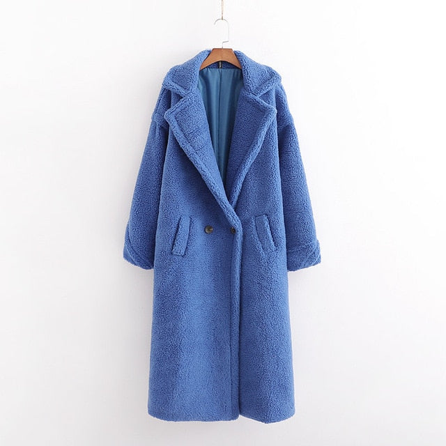 Winter Boss Teddy Coat - AfterAmour