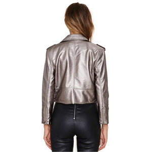 vibrant punk leather jacket - AfterAmour