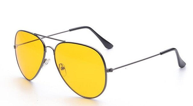 yellow aviator sunglasses - AfterAmour