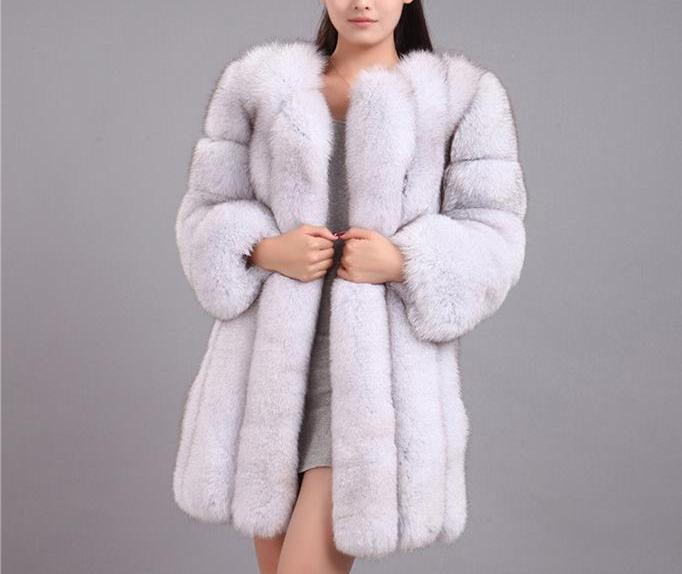 luxury mink full length fur coat - AfterAmour