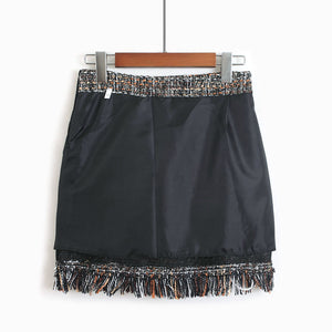 midtown tassel skirt - AfterAmour